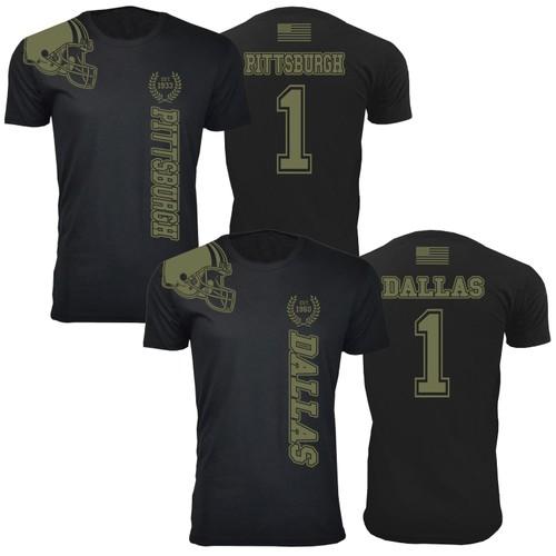 Men's Football Salute T-Shirts