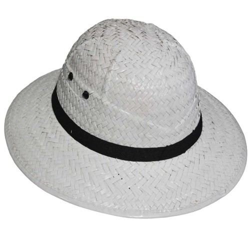 British Pith Helmet Adult Hat Safari Expedition Jungle Explorer Mens Womens