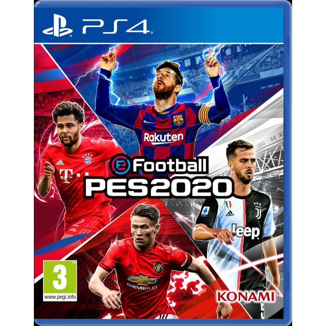 eFootball PES 2020 PS4 Game