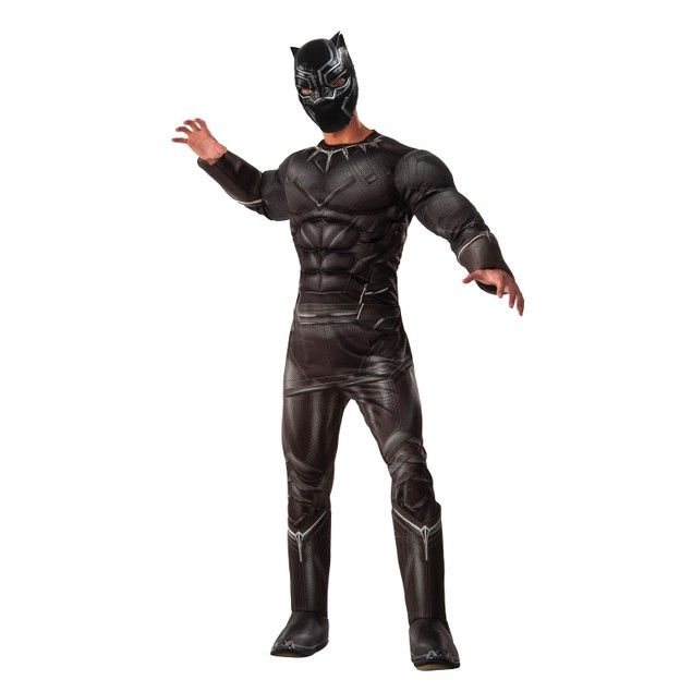Muscle Chest Deluxe Black Panther Costume