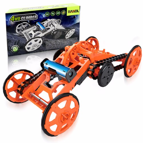 DIY Car Assembly Electric Mechanical Construction Real Motor Climbing Car