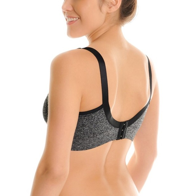 3-Pack Angelina Seamless Nursing Bras With Mesh Detail