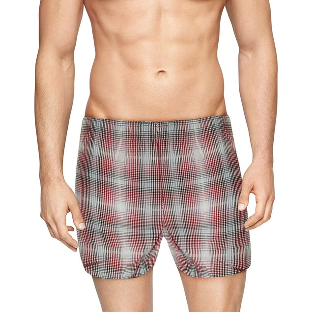 6-Pack Mystery Deal: Mens Plaid Boxer Shorts (S-3X)