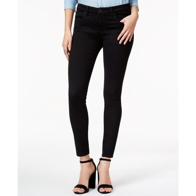 STS Women's Skinny Leg Ponte Knit Pants Black Size 30