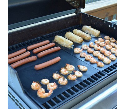 2-Pack Grill Mat - Heavy Duty and Nonstick BBQ Grill Mats Was: $29.99 Now: $9.99.