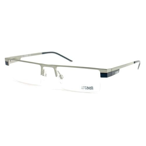Just Cavalli Women Eyeglasses JC 290 014 Silver 50 19 140 Semi Rimless Rectangle