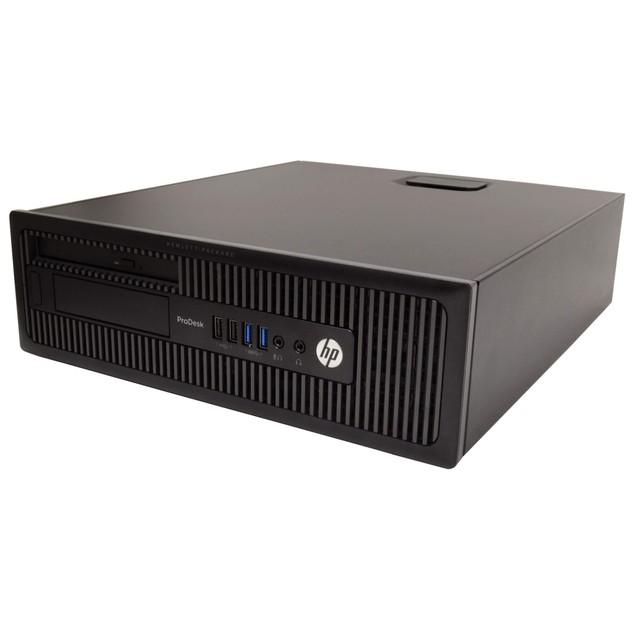 "HP 600G1 Desktop Intel i7 16GB 240GB SSD Windows 10 Professional 22"" Monito"