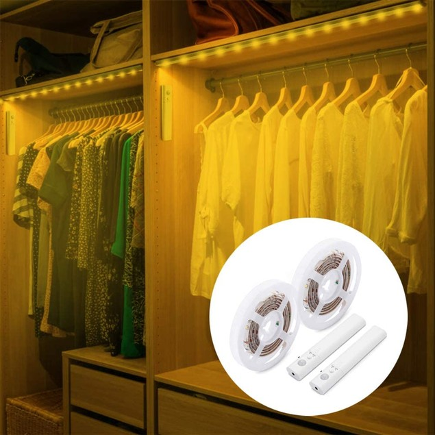 2-Pack: Motion Activated LED Light Strip (6.5 Feet)