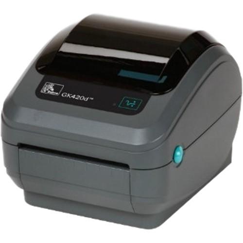 Zebra GK420d Direct Thermal Advanced Desktop Printer (Used-Good)