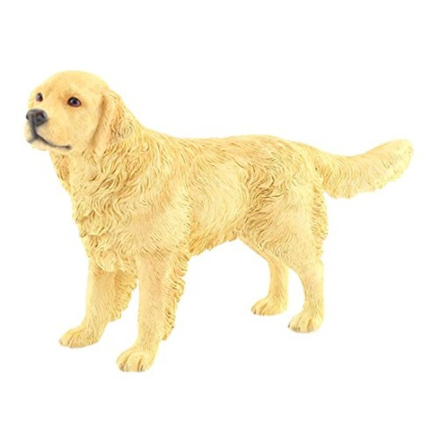 Golden Retriever Figurine By Lesser and Pavey