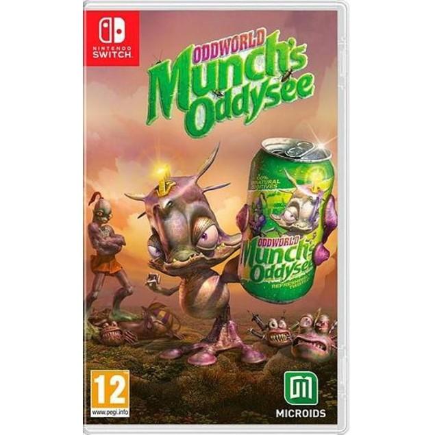 Oddworld Munch's Oddysee Nintendo Switch Game