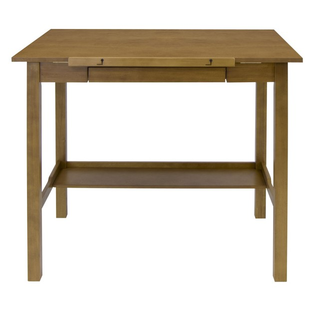 "Studio Designs Americana II Drafting 30"" x 42"" Table - Light Oak"