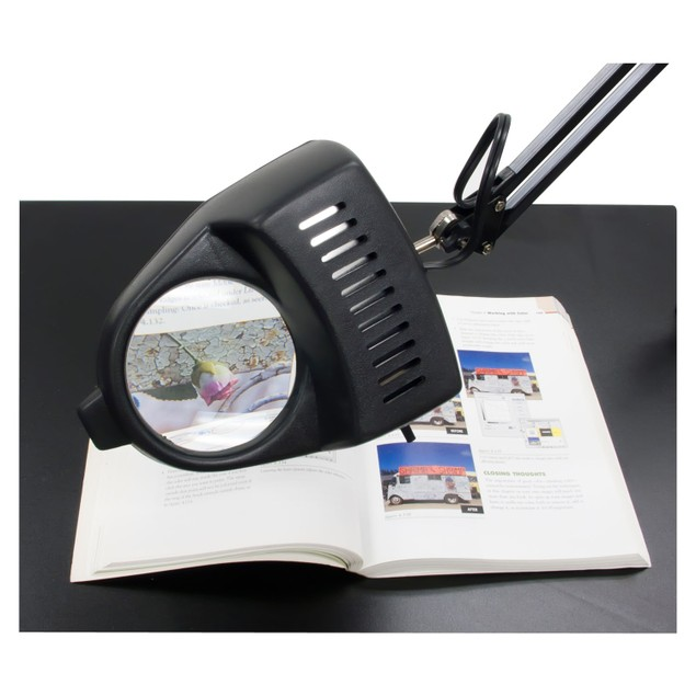 Studio Designs Magnifying Lamp - 13W CFL Bulb Included - Black