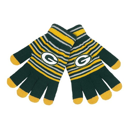 Green Bay Packers Premium Winter Knit Gloves