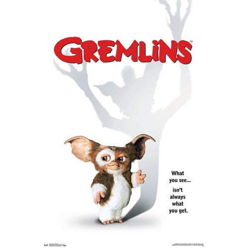 Gremlins One Sheet Wall Poster