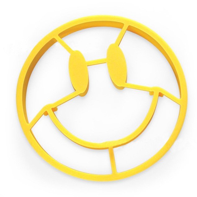 Silicone Fried Smile Egg Mold
