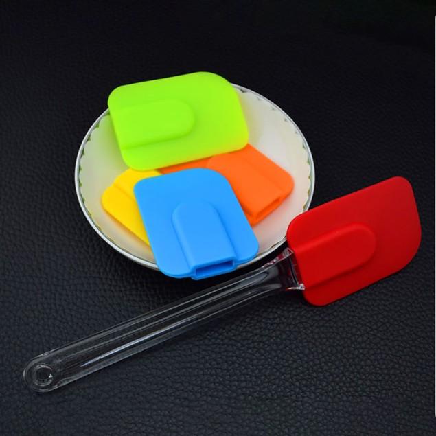 Kitchen Utensil High Temperature Resistant Cake Cream Scraper Spatula