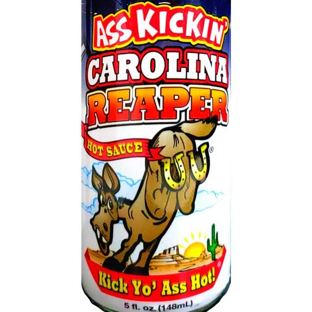 Ass Kickin' Carolina Reaper Pepper Hot Sauce