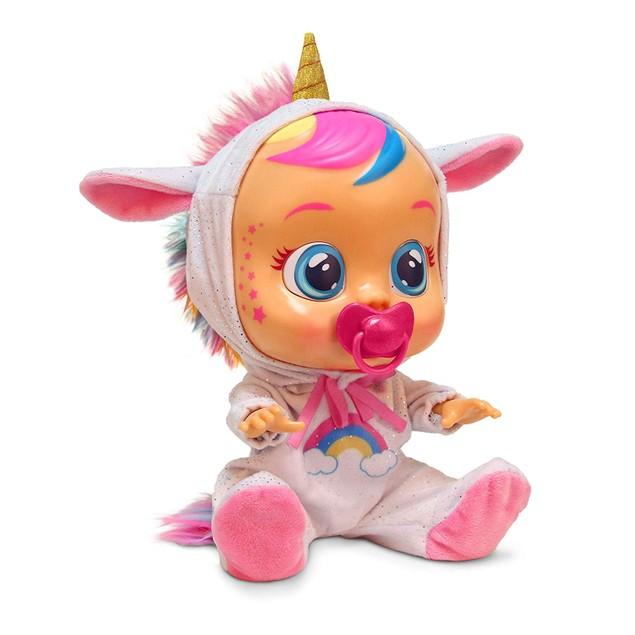 Cry Babies Fantasy Dreamy Unicorn Interactive Doll