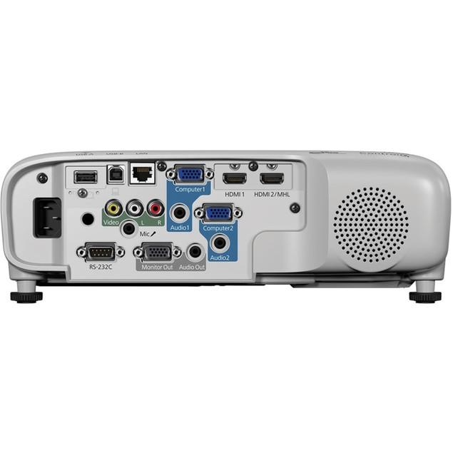 Epson PowerLite 980W 3800-Lumen WXGA 3LCD Projector (Certified Refurbished)