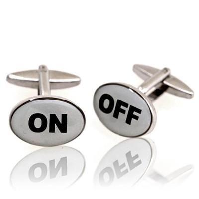 On/off Cufflinks