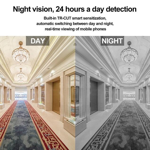 Panoramic Full HD 1080P Hidden spy Camera WIFI IP Light Bulb Camera  CCTV
