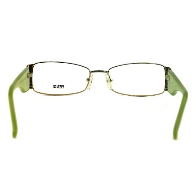 Fendi Women's Eyeglasses F923R 714 Gold 52 16 135 Metal Full Rim