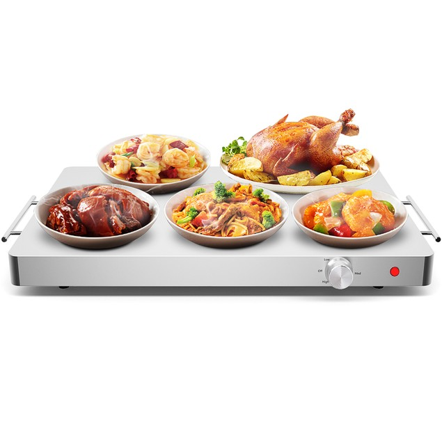 Costway Stainless-Steel Electric Food Warming Tray