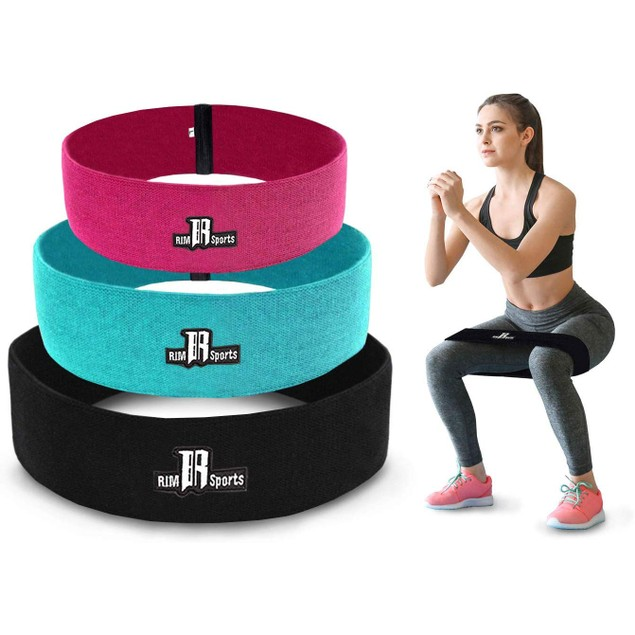 3-Piece Combo Hip Resistance Bands for Legs