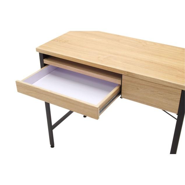 Calico Designs Ashwood Compact Desk - Ashwood/Graphite