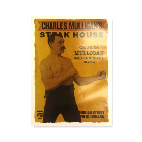 Ron Swanson's Charles Mulligan's Steak House Poster 18 x 24