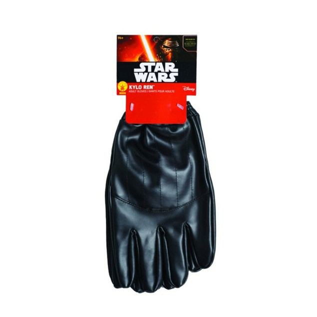 Kylo Ren Gloves Star Wars Force Awakens 2pc Movie Series Costume Accessory