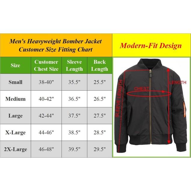 Men's MA-1 Flight Bomber Jacket