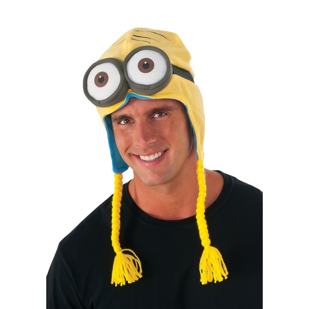 Minions Laplander Hat Despicable Me Movie Eyes Goggles Bomber Face Adult