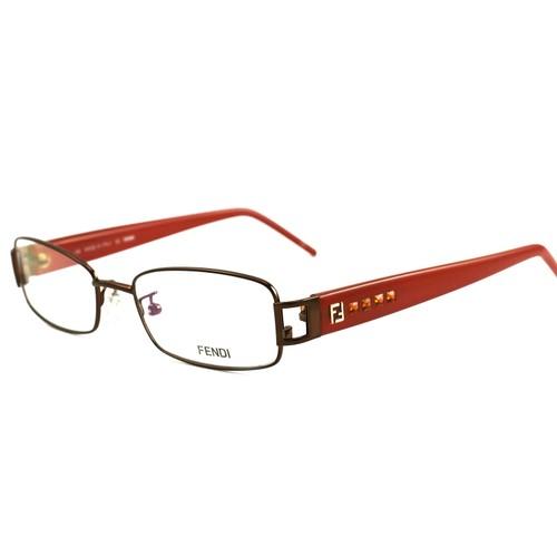 Fendi Women Eyeglasses FF941R 212 Brown 27 52 19 Frames Rectangle