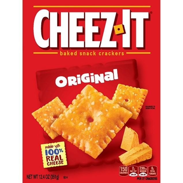 Cheez-It Original Baked Snack Crackers