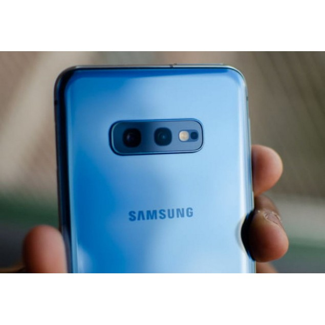 Samsung Galaxy S10e, Unlocked, Blue, 256 GB, 5.8 in Screen
