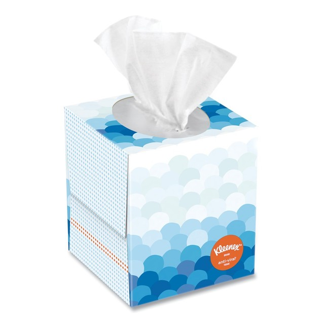 Kleenex KCC49978 Anti-Viral Facial Tissues to Kill Cold and Flu Viruses,