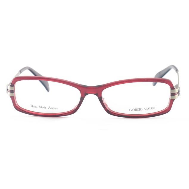 Giorgio Armani Women's Eyeglasses GA798 SFX Burgundy 53 15 135 Full Rim