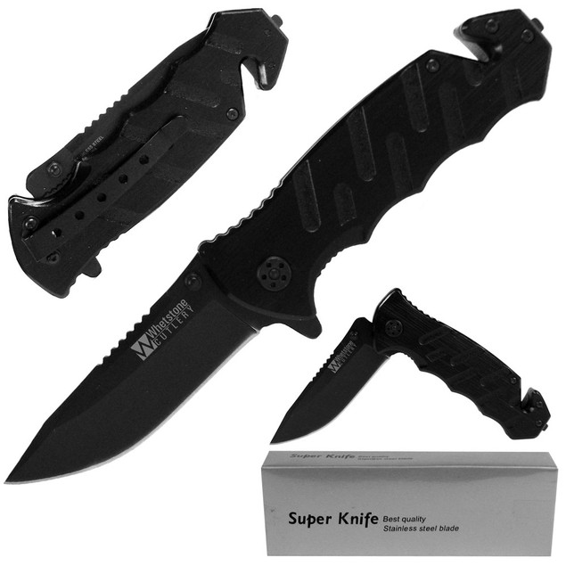 Whetstone Tough Rescue Tactical Folding Knife