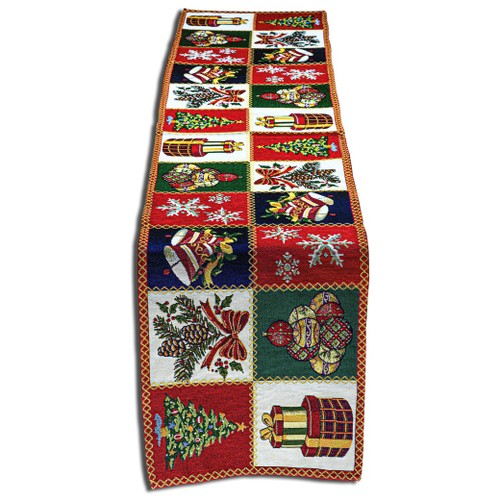 """Homvare Christmas Holiday Runner 13""""X72"""", Table Décor"""