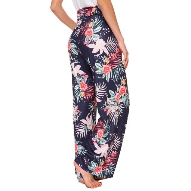 Floral Bell Pants