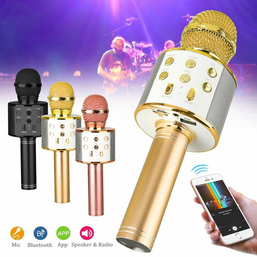 Professional Bluetooth Wireless Microphone Speaker