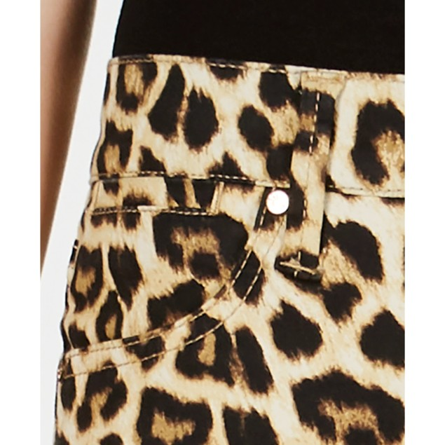 Celebrity Pink Junior's Cheetah-Print Skinny Ankle Jeans Assorted Size 0