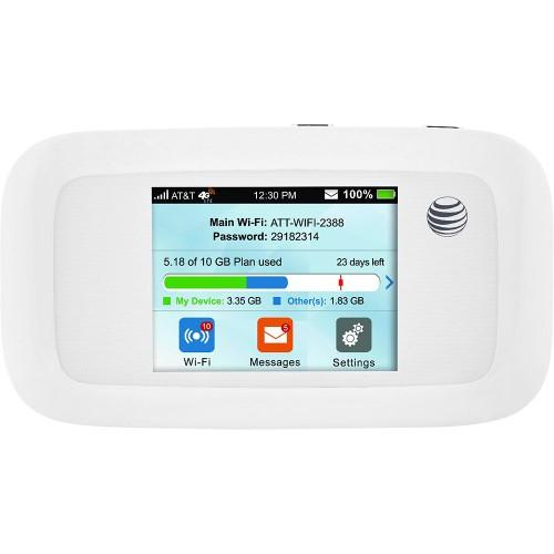 ZTE Velocity MF923 Hotspot Router AT&T Unlocked (White)