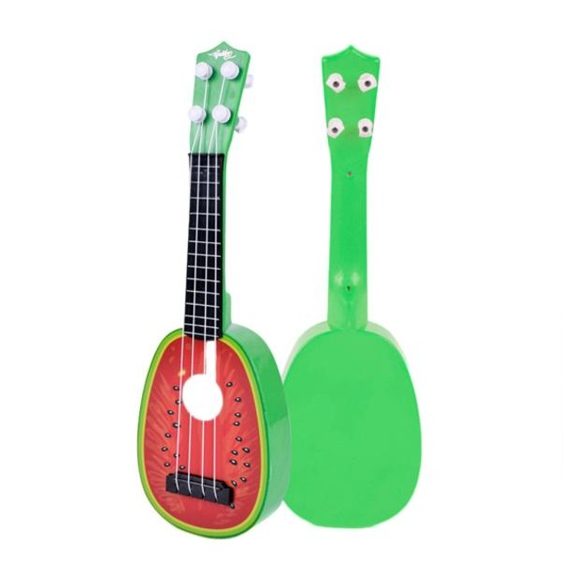 Children Learn Guitar Ukulele Mini Fruit Can Play Musical Instruments Toys