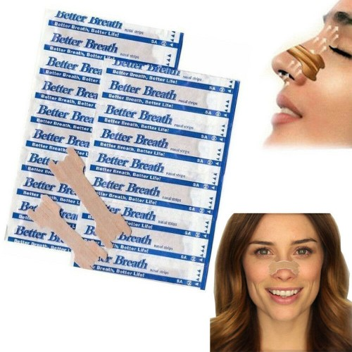 Nasal Strips Nasal Congestion Relief Breathe Better & Reduce Snoring