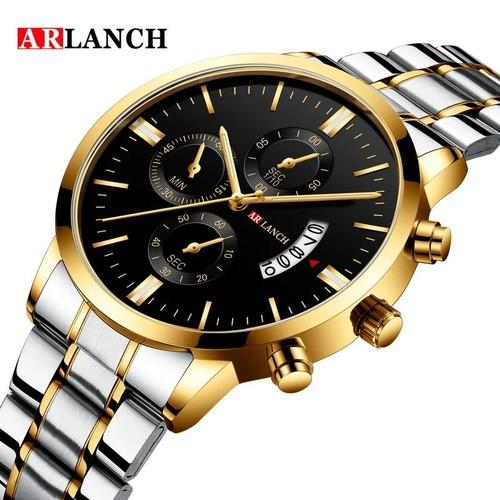 ARLANCH Waterproof Calendar Quartz Watch Business Casual Watch
