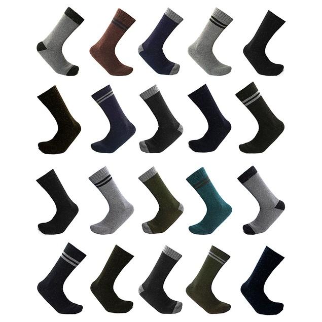 6-Pair Mystery Deal: All-Season Heavy Duty Thermal Working Men's Socks