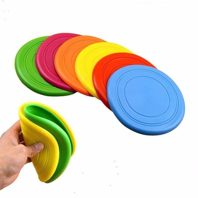 3 Pieces Frisbee Flying Disc Tooth Resistant Outdoor